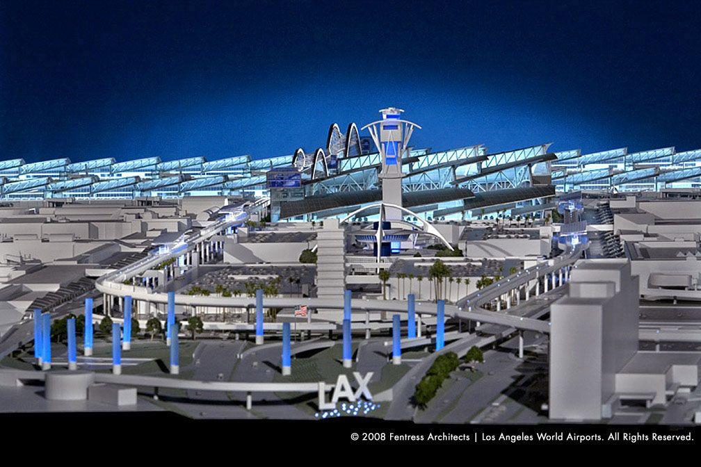 Lax S Tom Bradley Getting New Curb Appeal Los Angeles International Airport Long Beach Airport Los Angeles