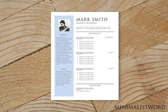 Resume W Banner Template Ms Word Banner Template Resume Templates Resume Template
