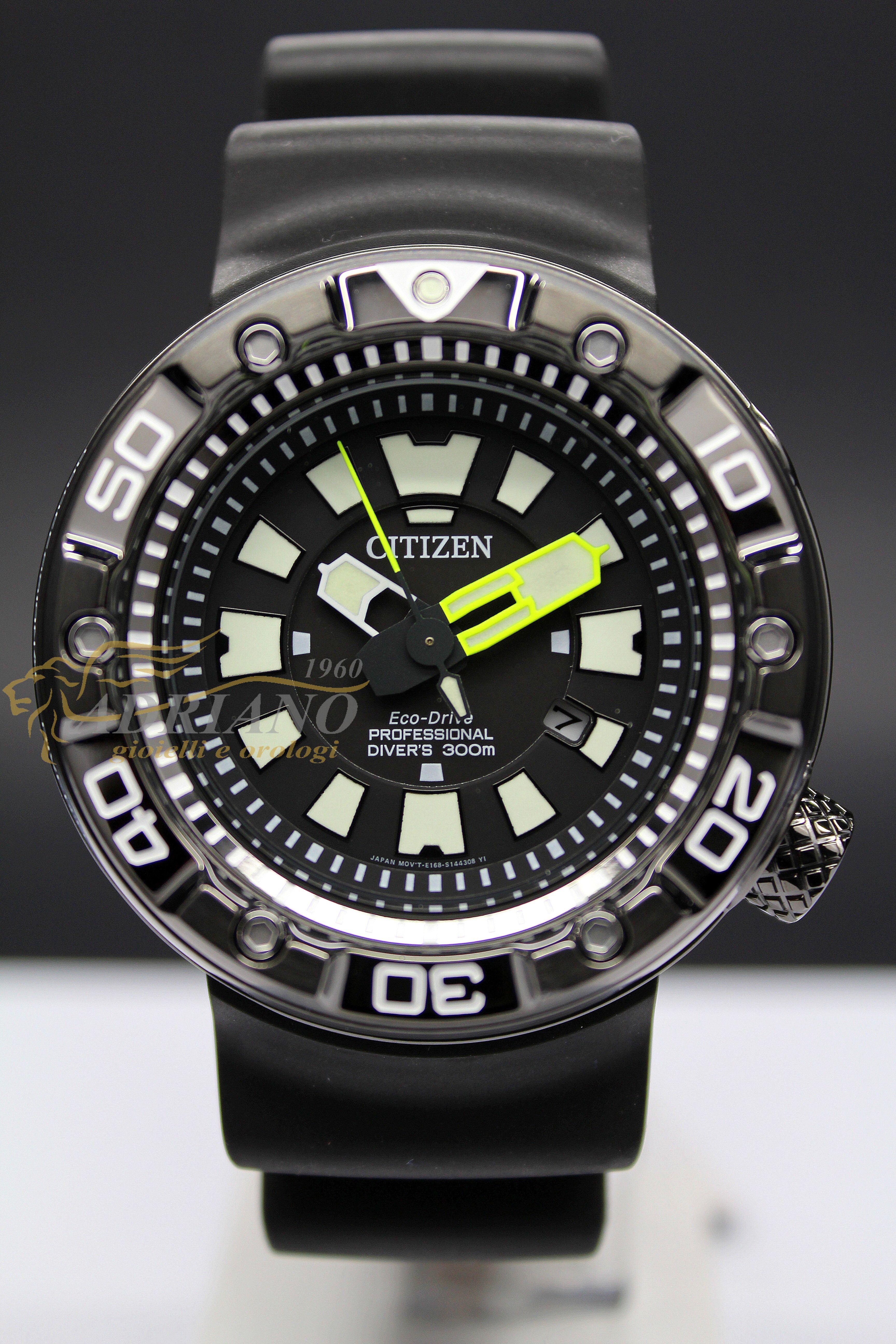 half off 2c1fa a863a Vendesi Citizen BN0175-01E Promaster Diver'S Eco Drive 300 ...