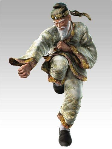 Tekken 5 6 Wang Old Man Character Art Martial Arts