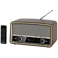 Radionette RNRDWO13E med FM, DAB og DAB + radiostasjoner, Bluetooth og funksjoner som alarm, klokke, dvalefinksjon og snooze.