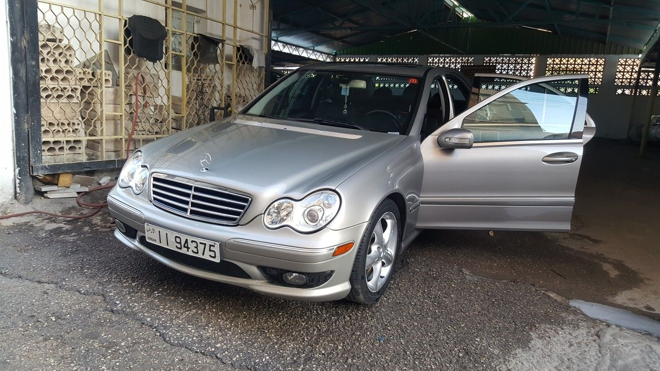 Mercedes Benz C230 Kompressor Sport 2005 W203 Luxury Car Car