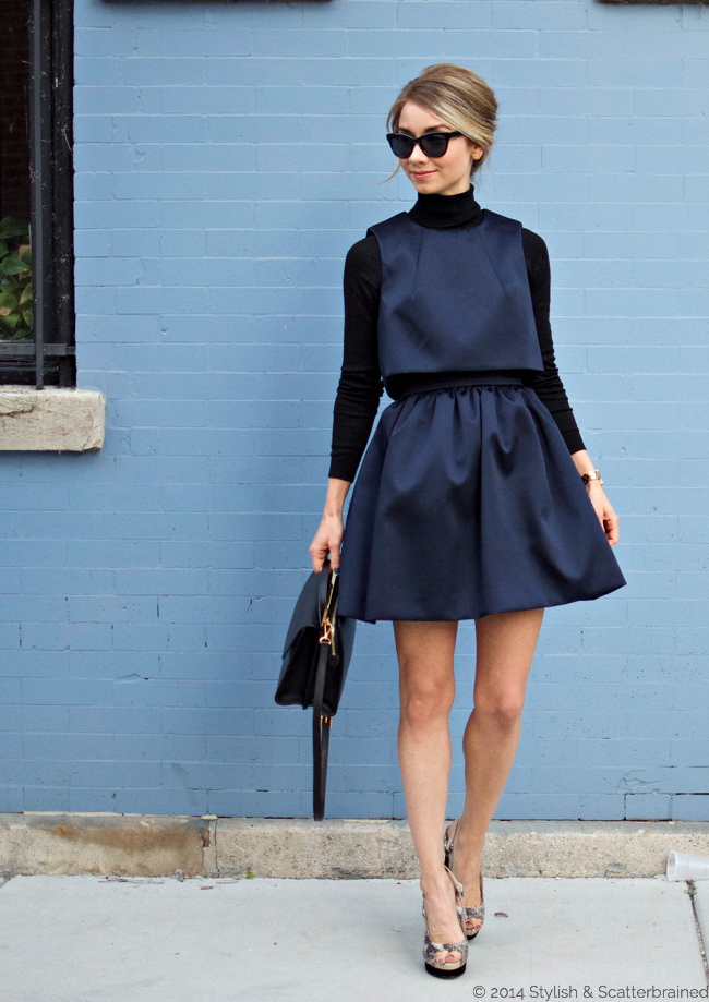 Image result for black and navy outfit