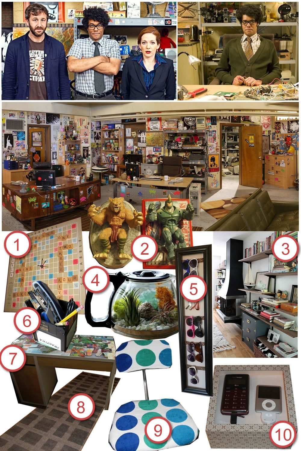 It Crowd Office Diy The Room Cut Out Keep Craft Blog