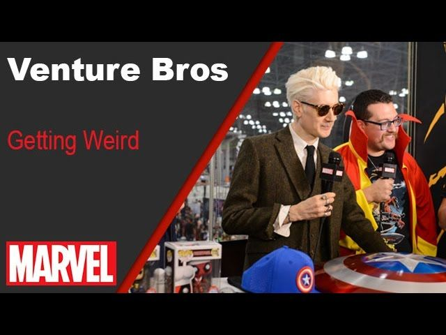 The Venture Bros - Marvel LIVE! NYCC 2016 - Video --> http://www.comics2film.com/the-venture-bros-marvel-live-nycc-2016/  #Marvel