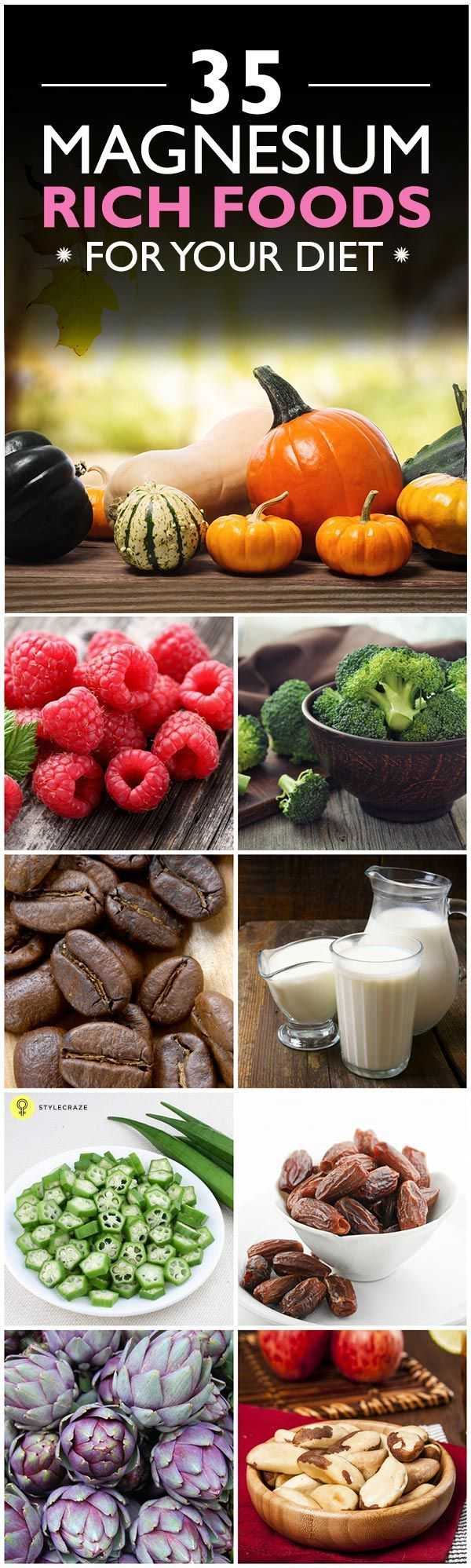 Did you know that deficiency of magnesium can lead to several health ...Here are top 35 Magnesium Ri