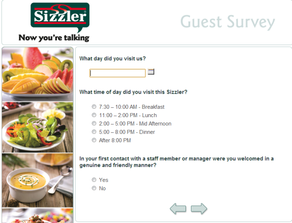 You can find Sizzler in Australia, China, Indonesia, Japan, Philippines, Puerto Rico and Thailand apart from the United States. HOW TO ENTER INTO SIZZLER SURVEY. Sizzler Customer Satisfaction Survey can be accessed through the following link –reropmoho.gq As soon you click on the link you will be directed to survey page.