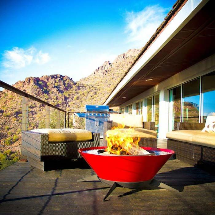 Outdoor Modern Fire Pit 2016 | Modern Design Classics ... on For Living Lawrence Fire Pit id=50682