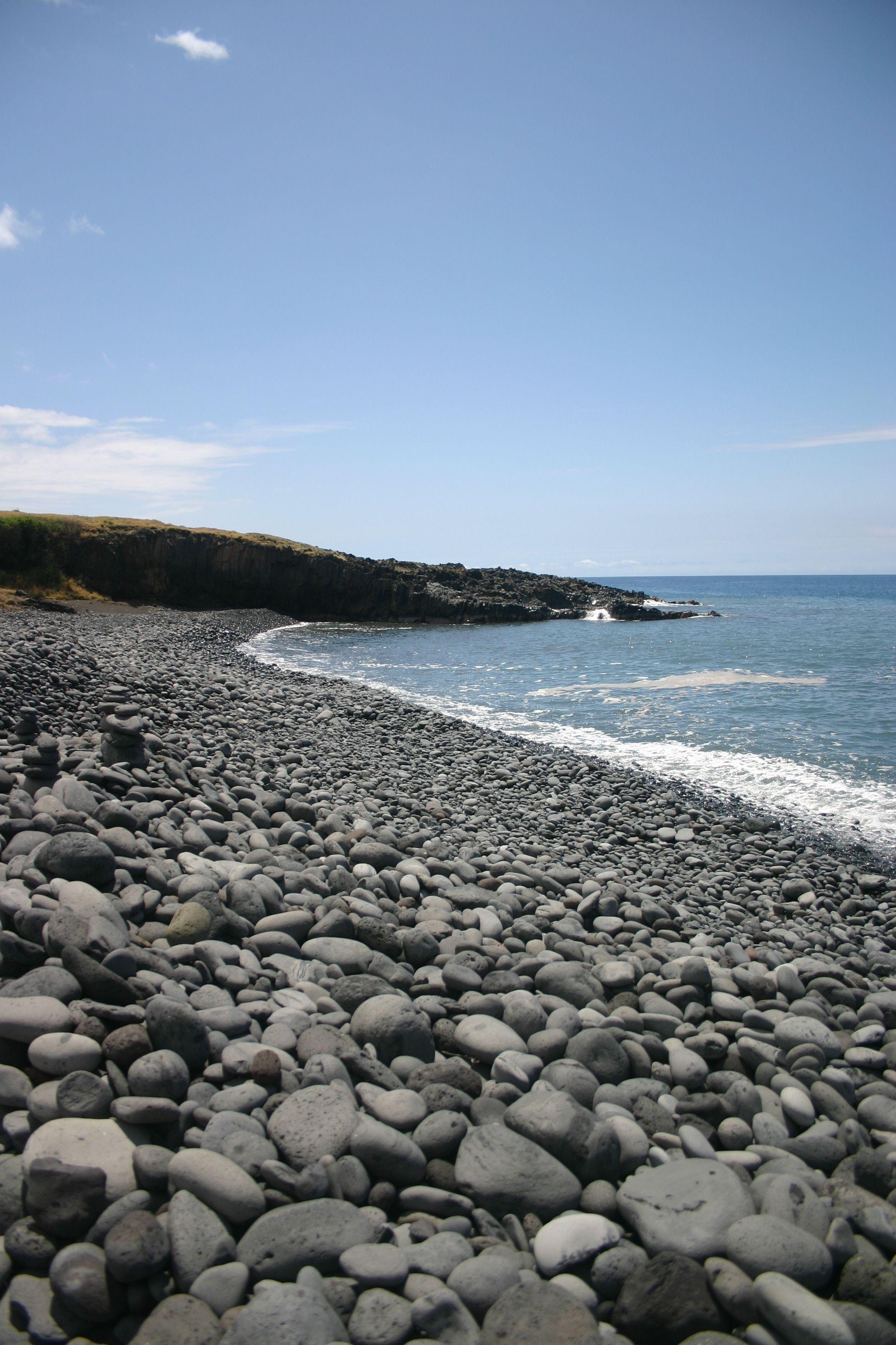 Haleakala Backside Black Sand Beach Maui Hi