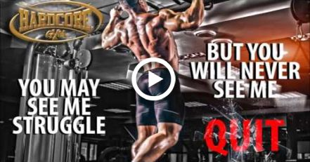 HARDCORE GYM  MOTIVATIONAL QUOTES VIDEO #quotes #fitness