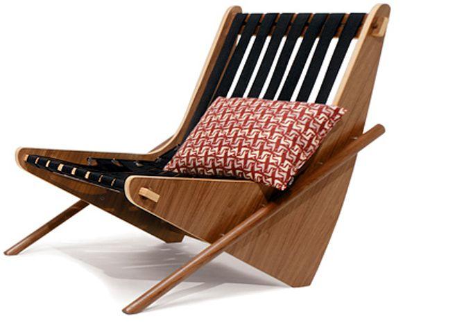 House Industries - Neutra Boomerang Chair Stuhl Pinterest - ausergewohnliche relax liege hochster qualitat