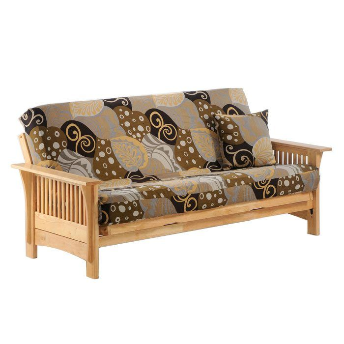 Futon Creations Frame In Natural Add Drawers