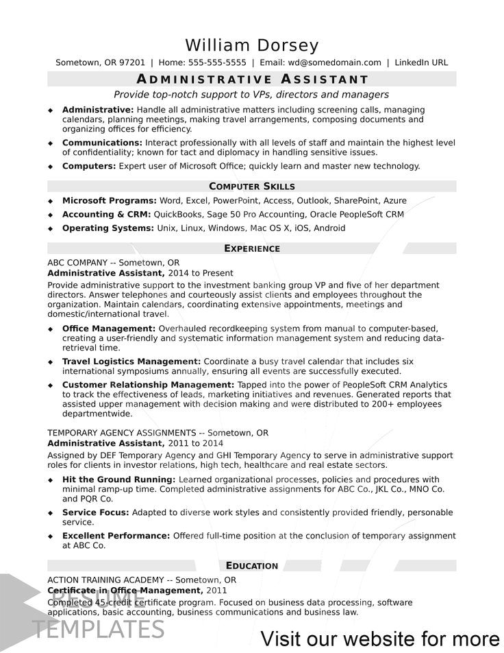 38+ School resume tips twitter in 2020 Administrative