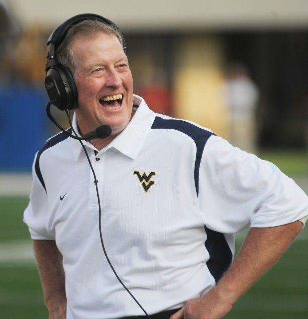Former WVU Mountaineers coach Bill Stewart.