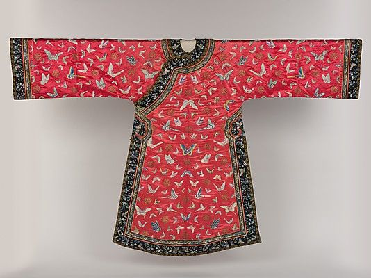 Woman's Informal Robe with Butterflies | late 19th–early 20th century | China | The Metropolitan Museum of Art, New York | Gift of Mr. and Mrs. George F. Miller, 1970 | 1970.145