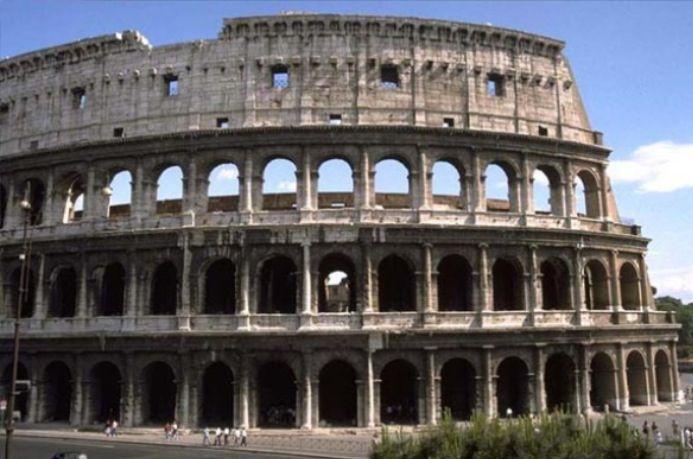 The Colosseum Ancient Roman Architecture Roman Architecture Colosseum Rome