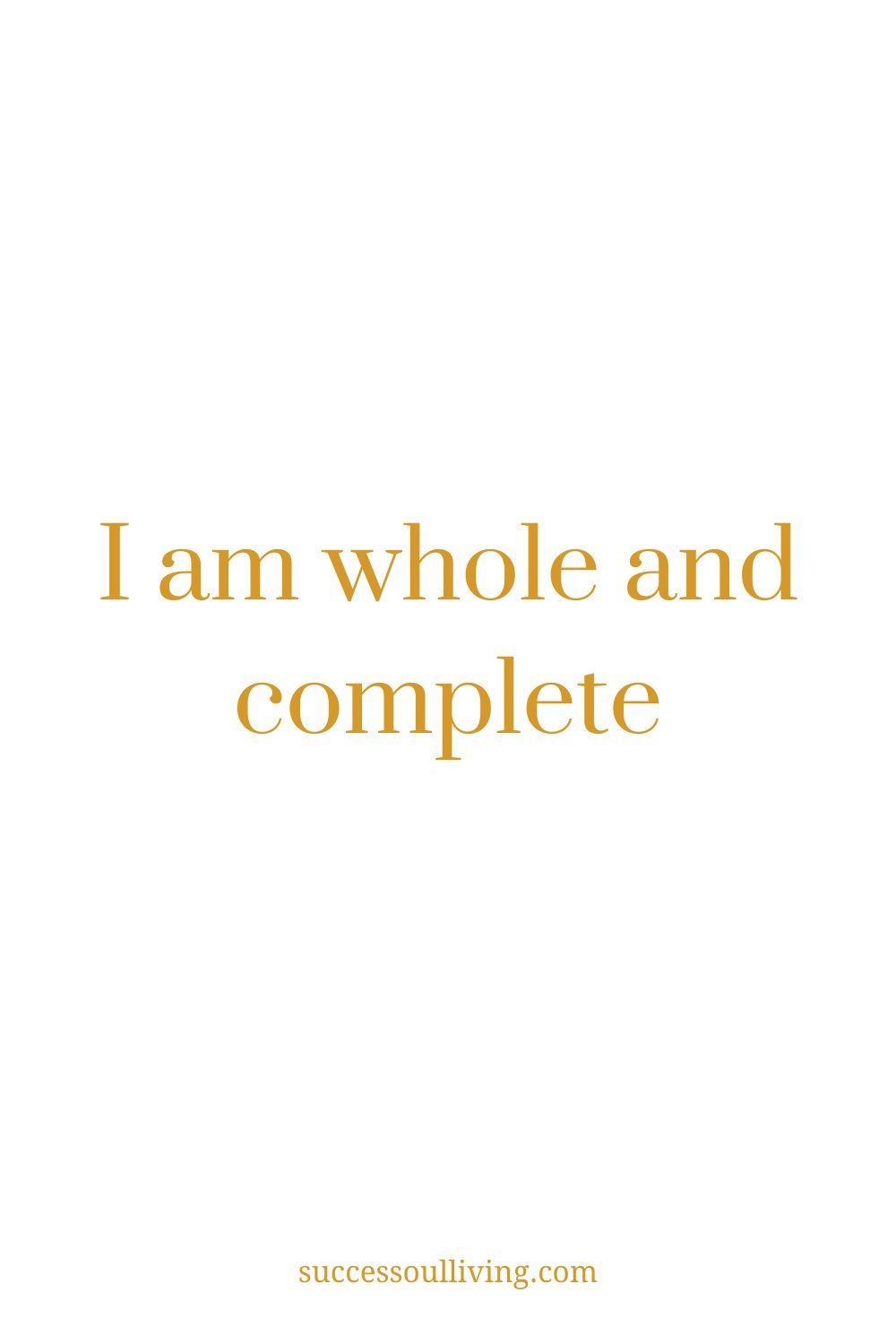 58 affirmations for success and abundance
