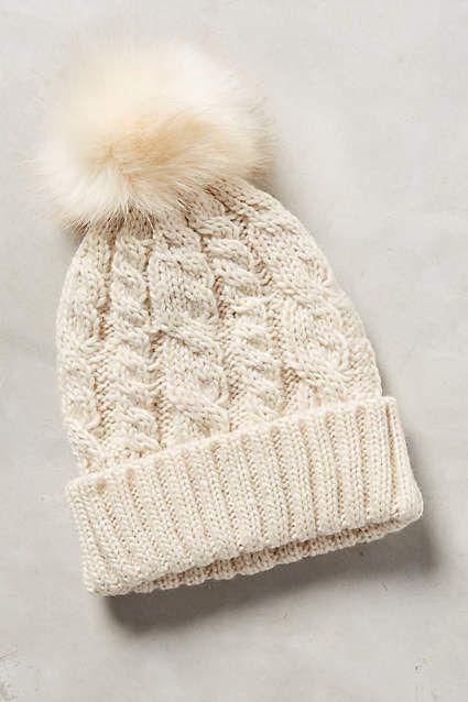 876e3c3483d Sidonie Pom Beanie - anthropologie.com Cute Hats