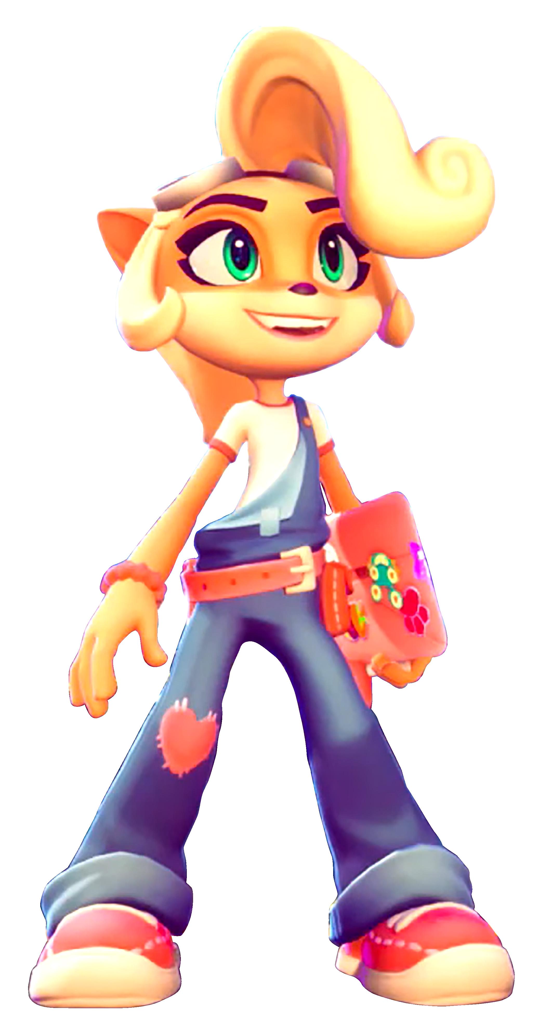 Toys For Bob Era Coco Bandicoot Crash Bandicoot Characters Bandicoot Crash Bandicoot