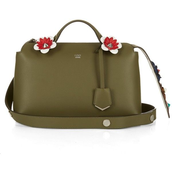 844e7750c182 Fendi By The Way flower-embellished tail cross-body bag ( 1