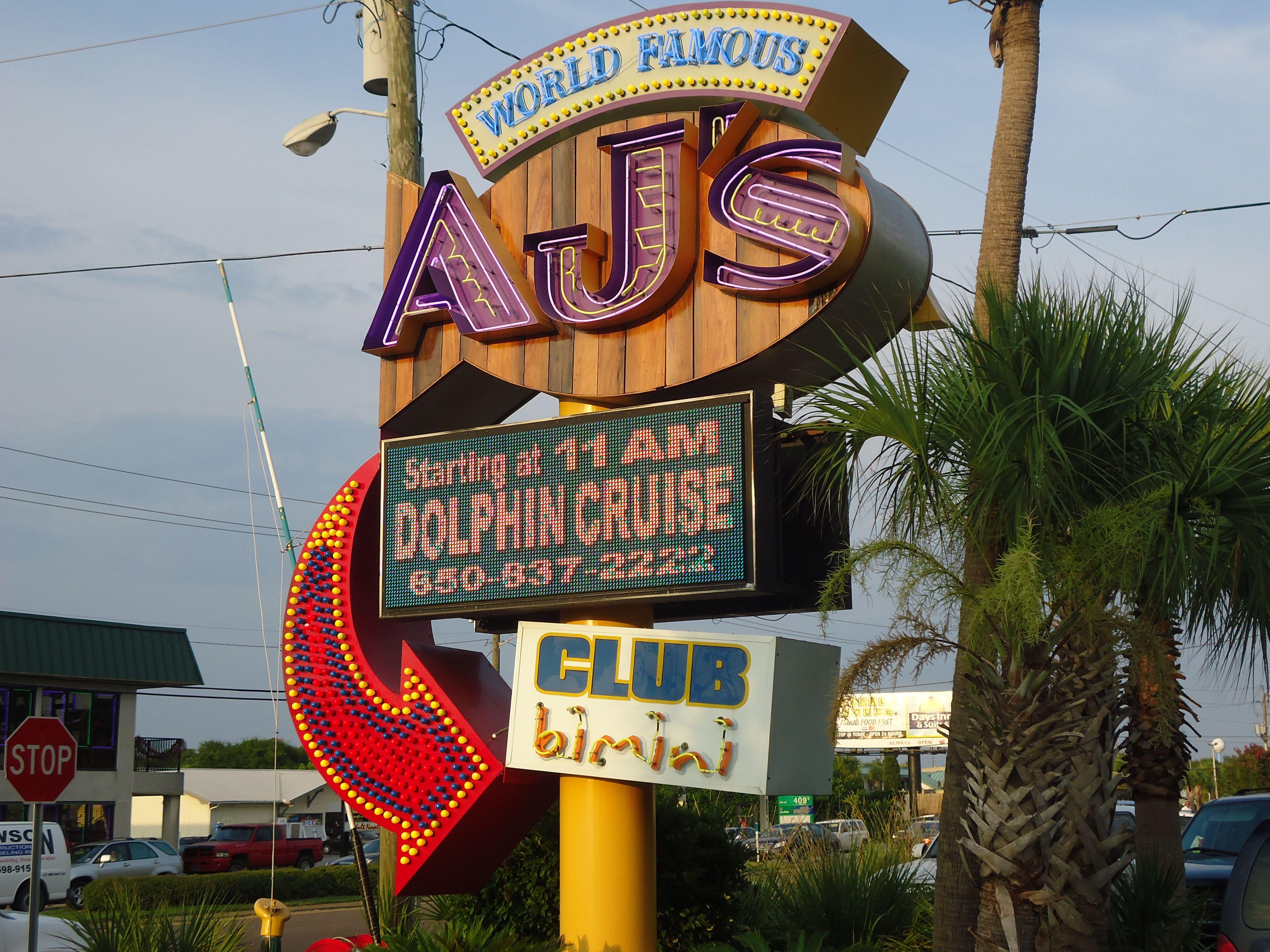 Aj S Restaurant In Destin Florida Favorite Places