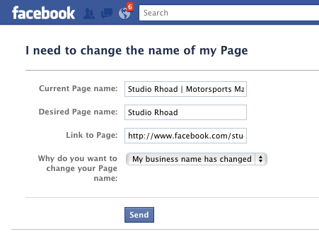 Have More Than 100 Fb Fans And Need To Change The Page Name There Might Be Hope Yet Business Names Names Social Media
