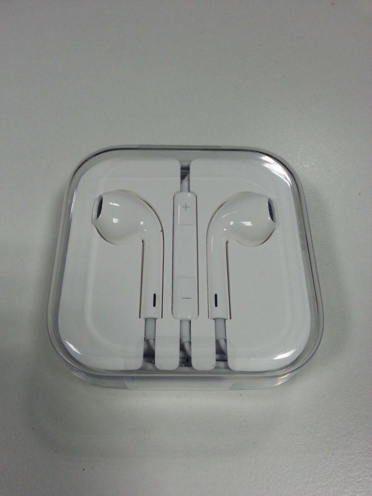 Original Apple Earpods In Ear Weiss Md827zm Iphone 6s Headset Kopfhorer Neu Apple Earpods Iphone Ebay