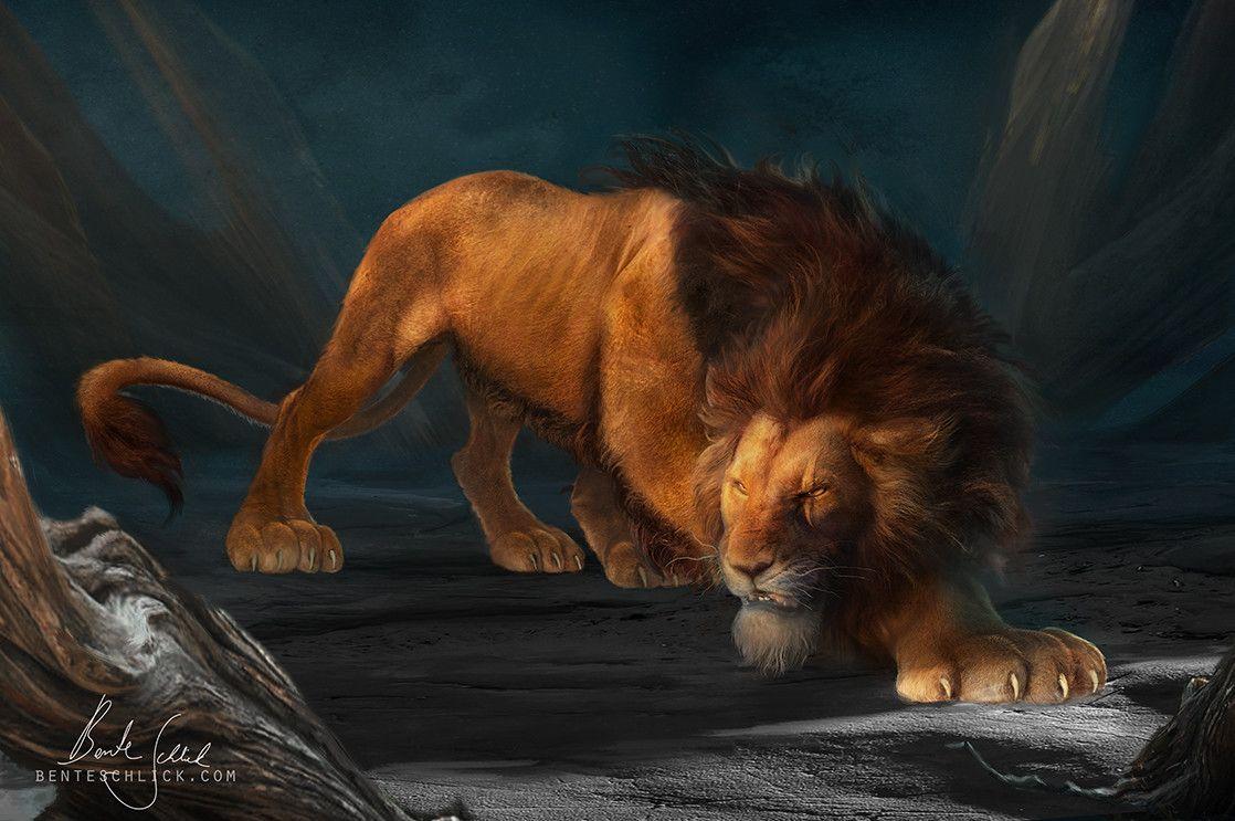 Artstation Scar The Lion King Bente Schlick Lion King Art Lion King Scar Lion King