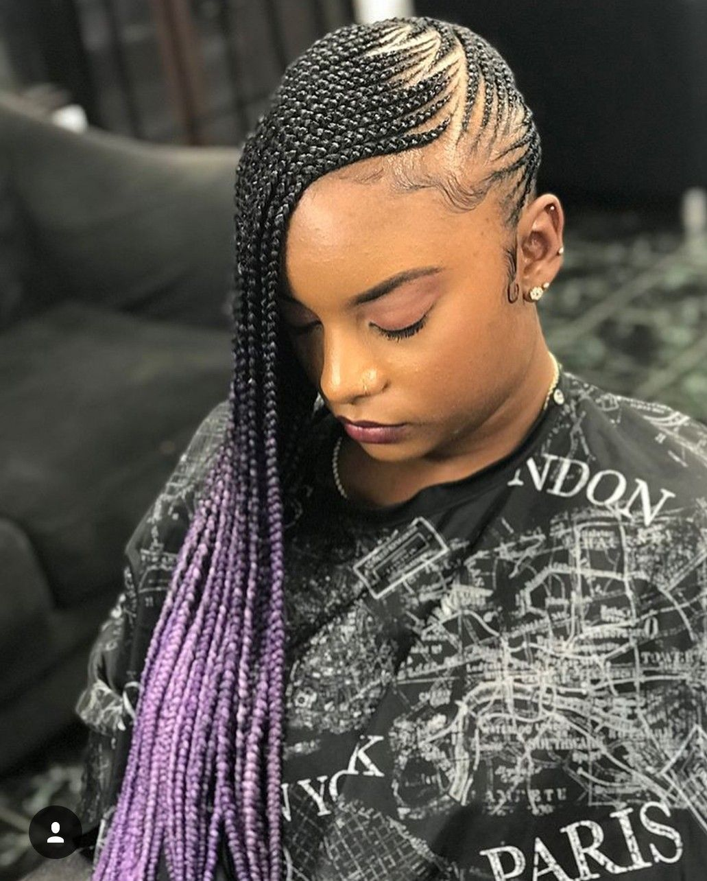 35 Lemonade Braids Styles for Protective Styling #protectivestyles