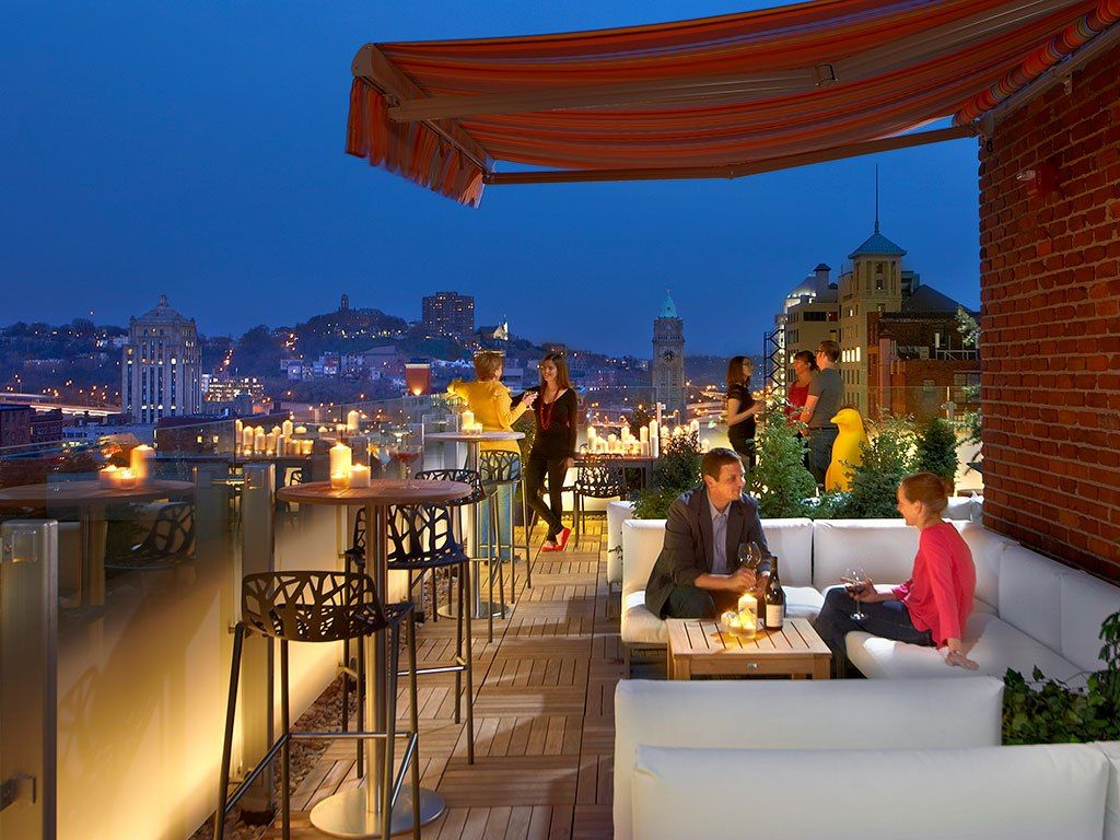 Rooftop Hotel Bars From Conde Nast Museum Cincinnati Ohio