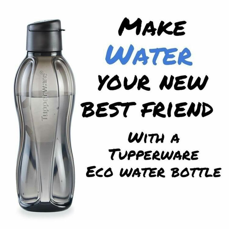 Eco Water bottle (With images) Tupperware consultant