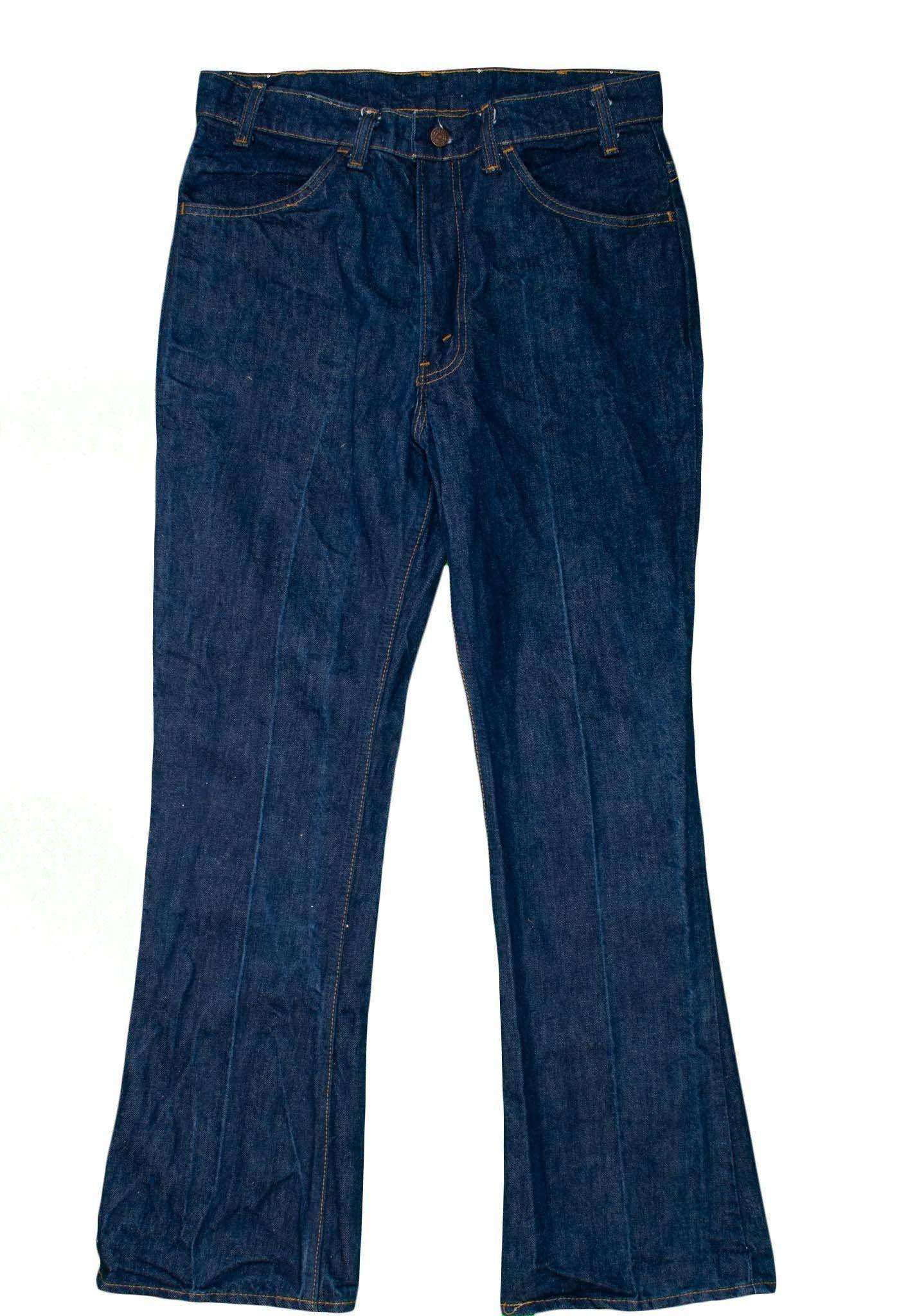 e0cf496ac22 Levis 646 Men's Jeans 34x31 Vintage Denim Orange Tab 1970's Bell Botto –  itisvintage #levis