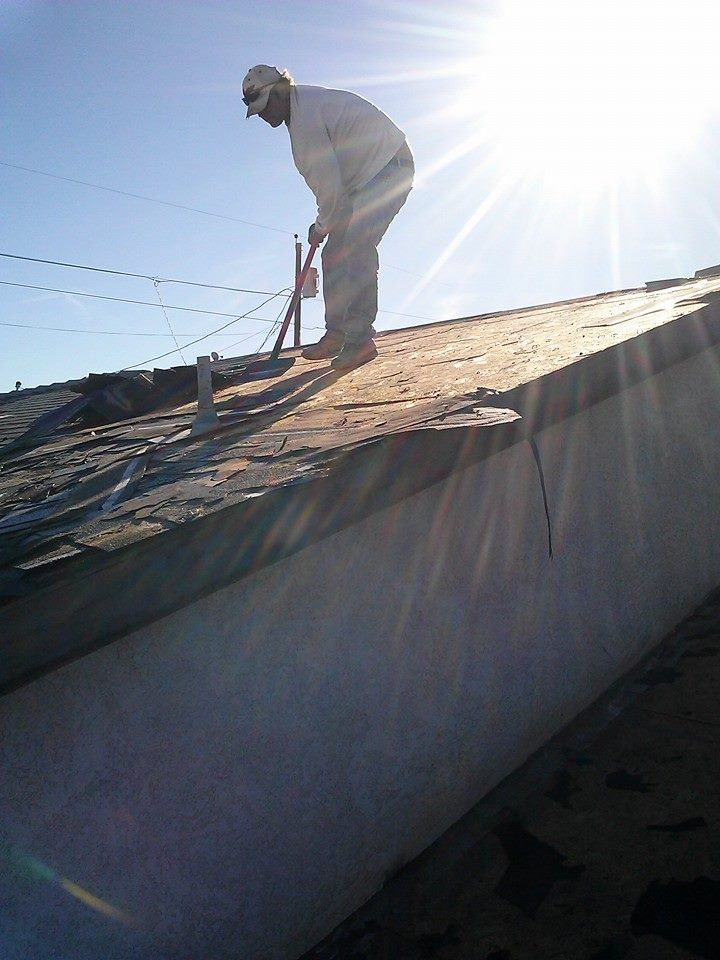 Ulrich Construction Roof Demo In Progress Bullhead City Az Leaking Roof