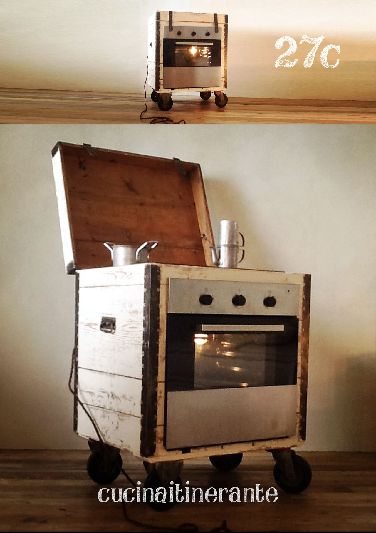 Upcycling furniture italian cooking me