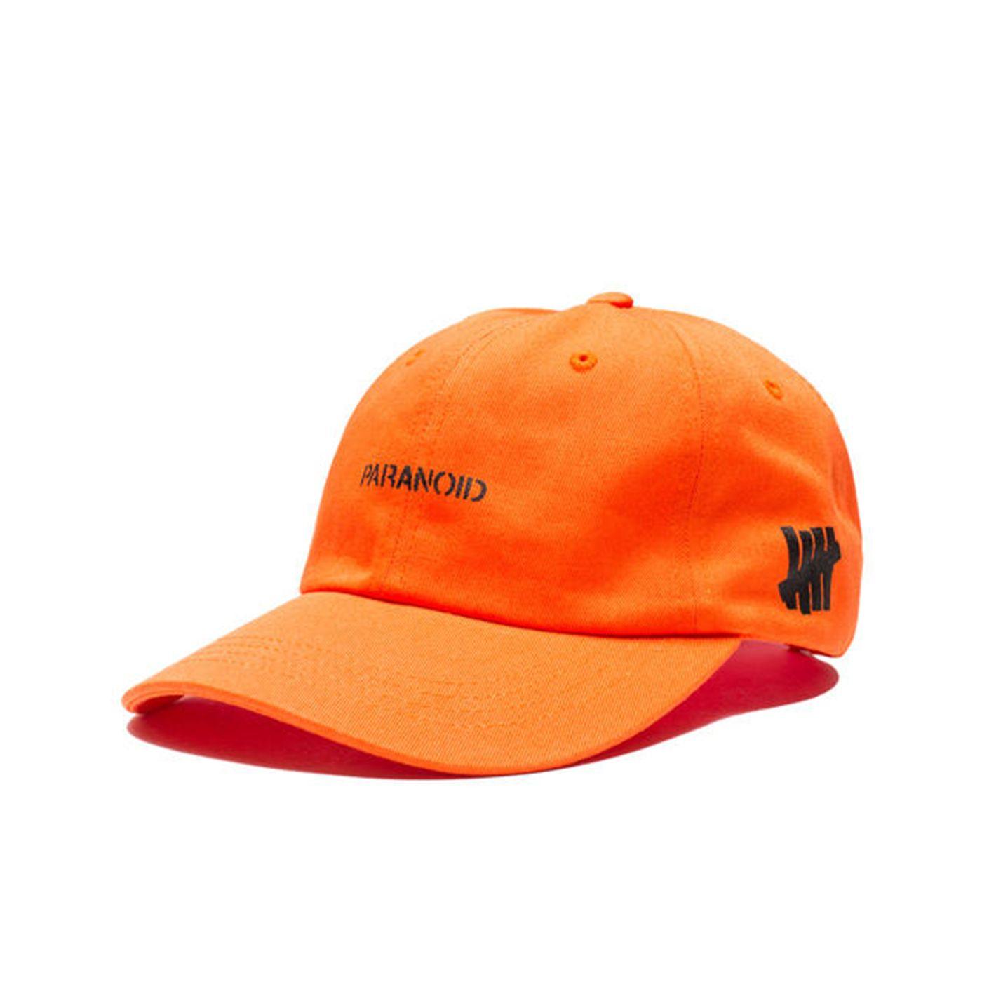 1b195ec80a1 Anti social social club x undefeated cap in orange (limited stock ...