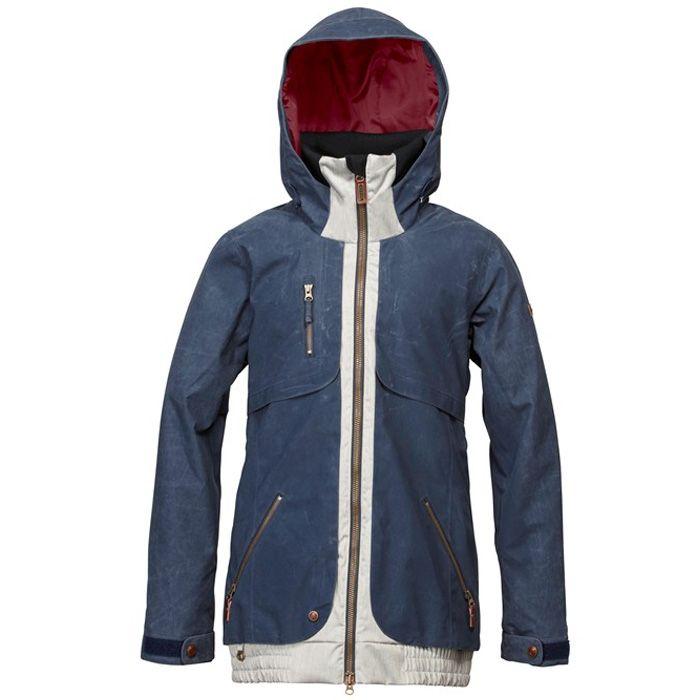 Roxy Ridgemont Snowboard Jacket - Women  s   Apparel   SnowWear ... d647cbd2c2b3