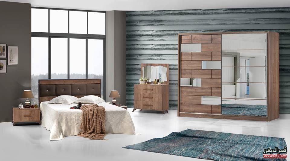 اشكال غرف نوم كاملة بالدولاب جرار 2018 قصر الديكور Furniture Home Room