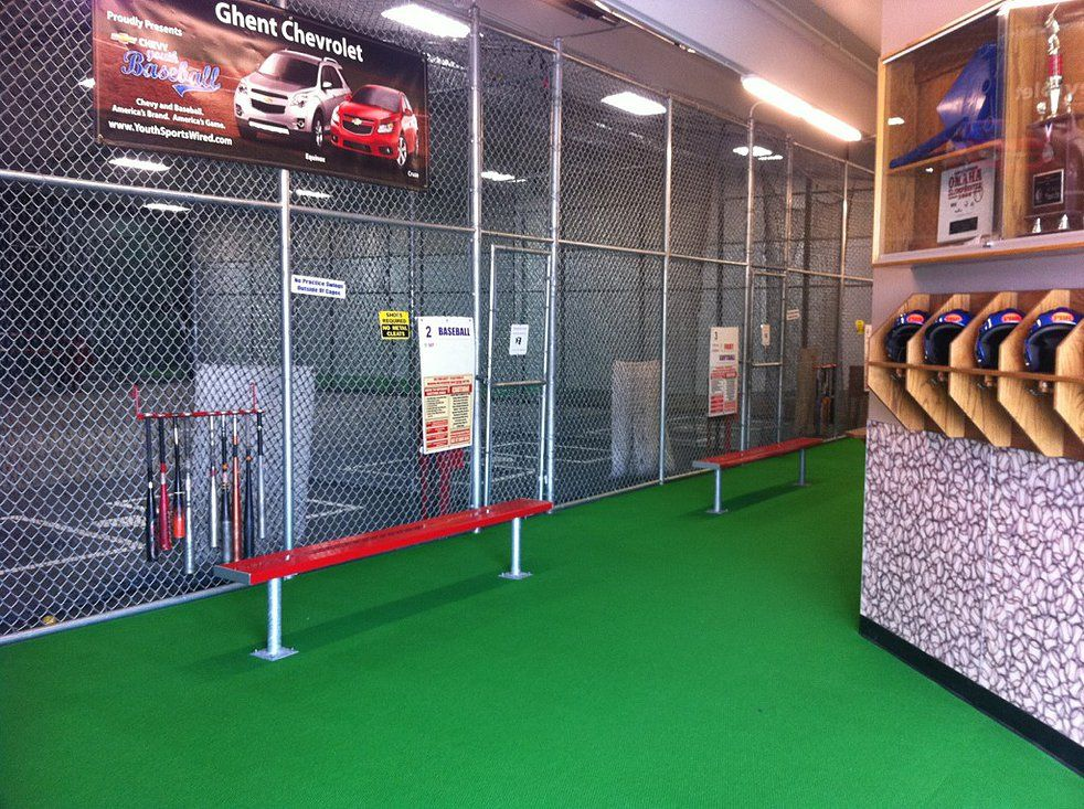 PBR Baseball Training Facility, Greeley Batting Cages