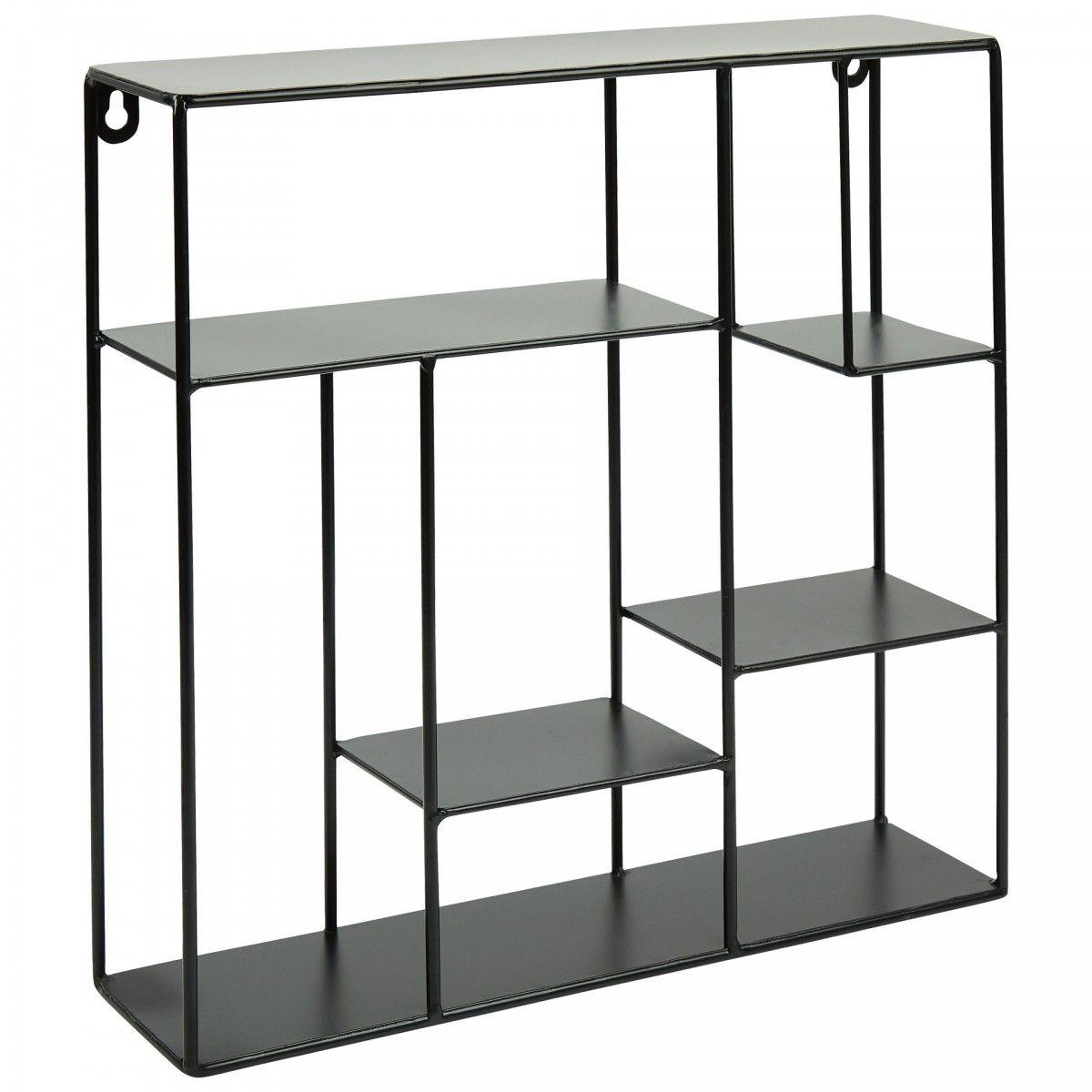 Metallregal (17x17)  Regal, Wandregal wohnzimmer, Metall
