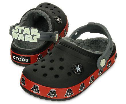 Kids' Crocband™ Darth Vader™ Lined