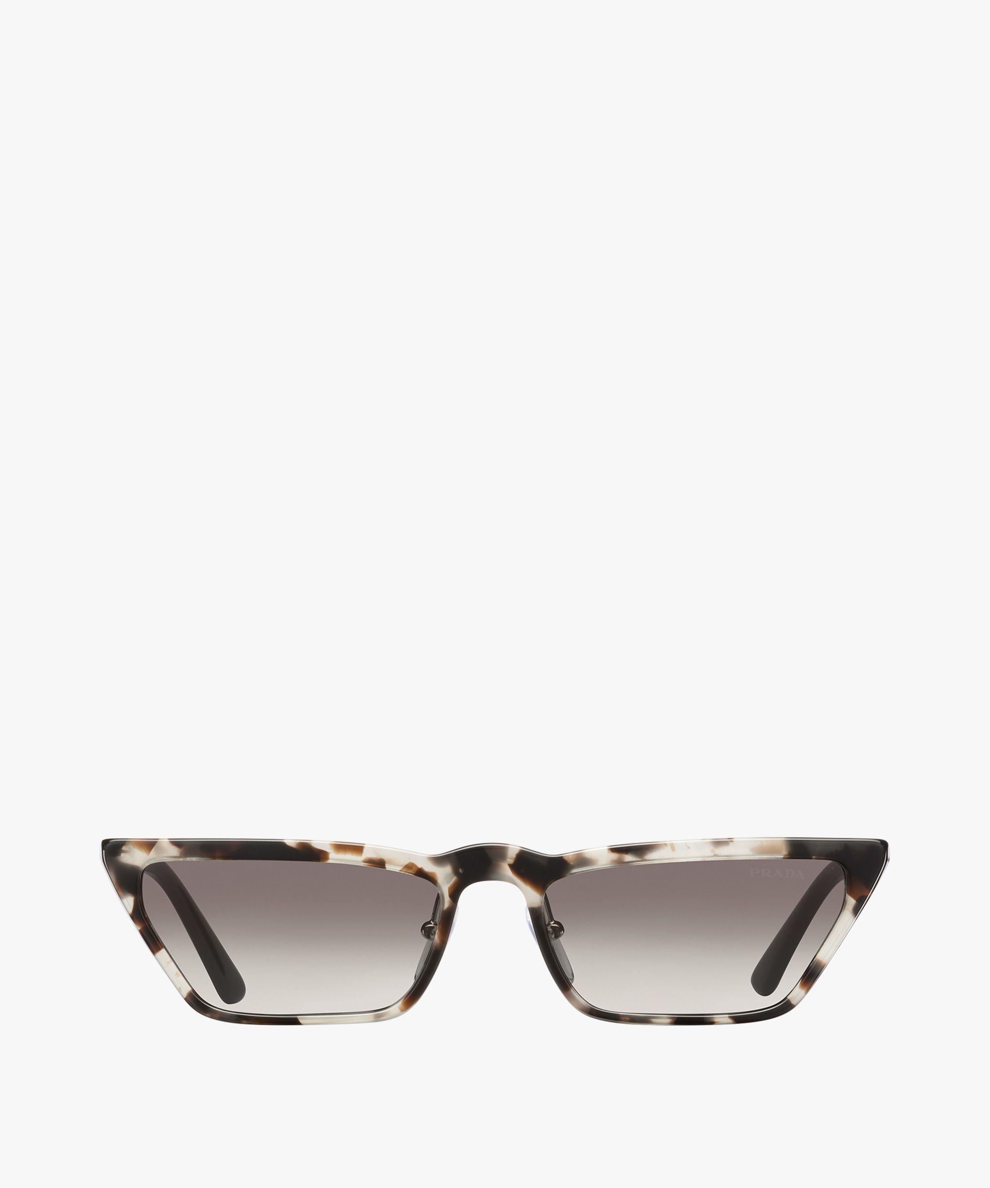 8ad5dedf37e9 Prada - Gradient anthracite grey lenses Ultravox sunglasses ...