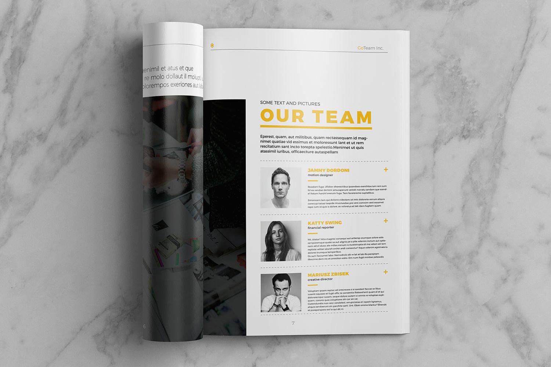 Creative Brochure Vol.1 by Kovalski on @creativemarket