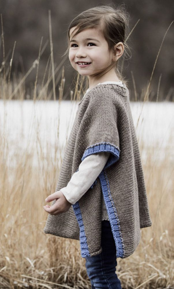 Puddle Jumper Poncho in Spud & Chloe Sweater - 201623 | Tejido ...