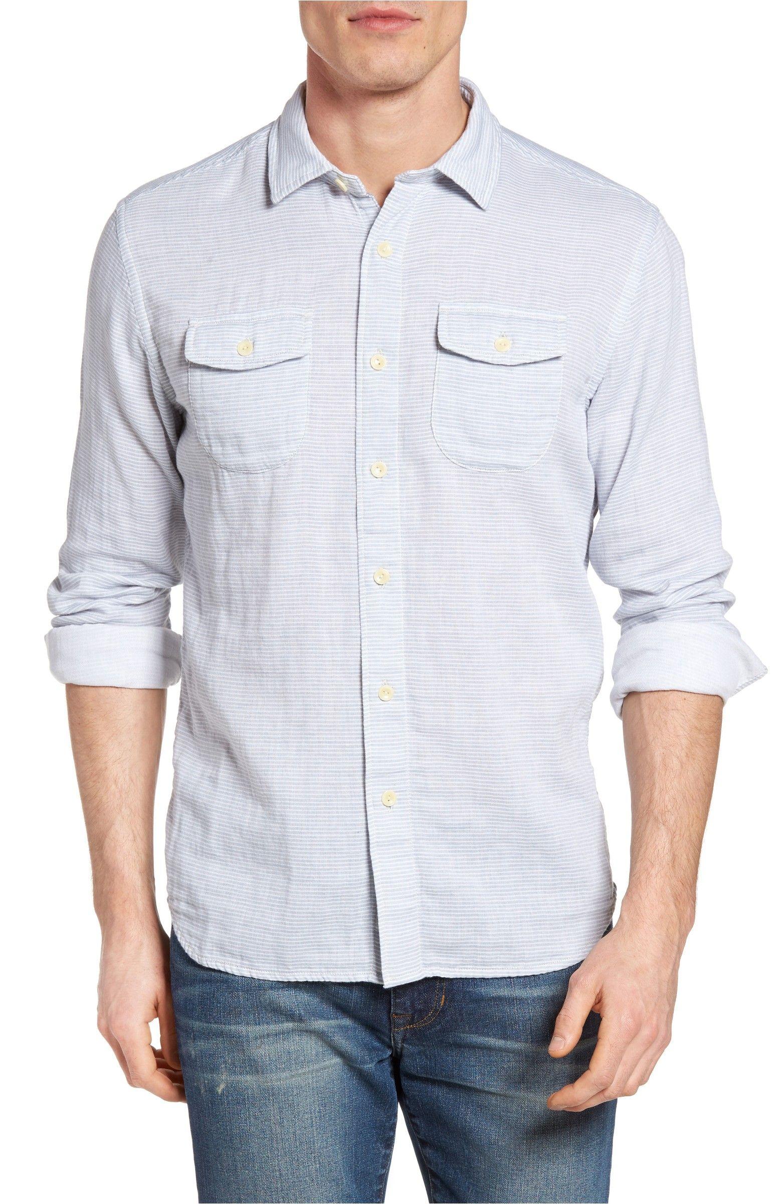 Main Image - Grayers Double Oxford Sport Shirt