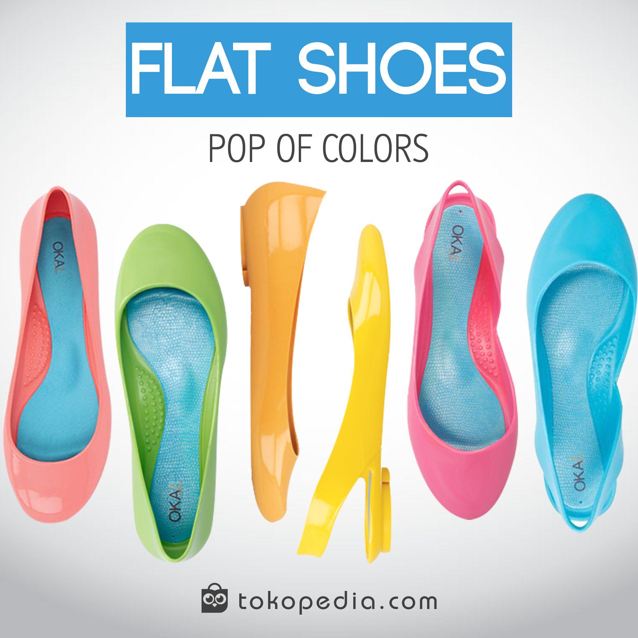 Pin By Tokopedia Official On Hot List Pinterest Flat Lady Jelly Shoes Sepatu Sendal Wanita Flats
