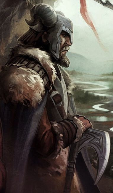 The Elder Scrolls Online Nord Skyrim Art Pinterest Fantasy