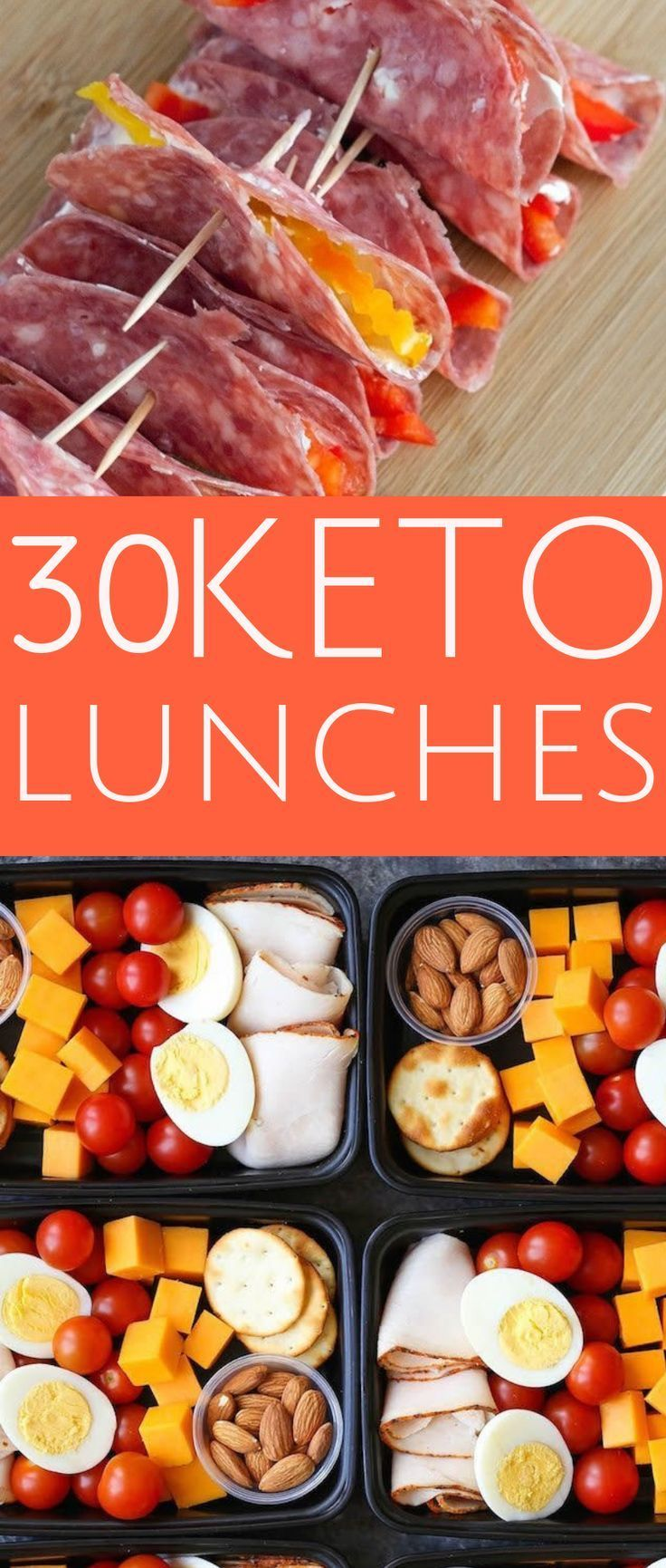 Keto lunches for work, ideas for keto lunches, simple keto lunches, keto lunches on the go, …