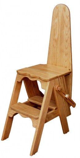 chair step stool ironing board dining seat covers nz jefferson historic ephemera iron furniture bachelor onit folding