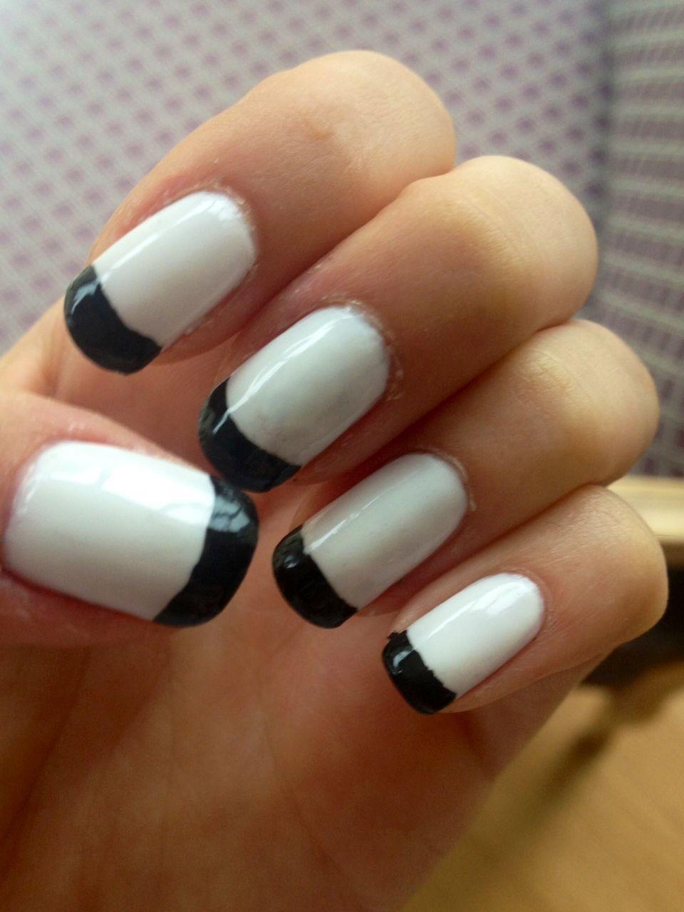 brown hand manicure - Google Search | fingernails | Pinterest | Nail ...