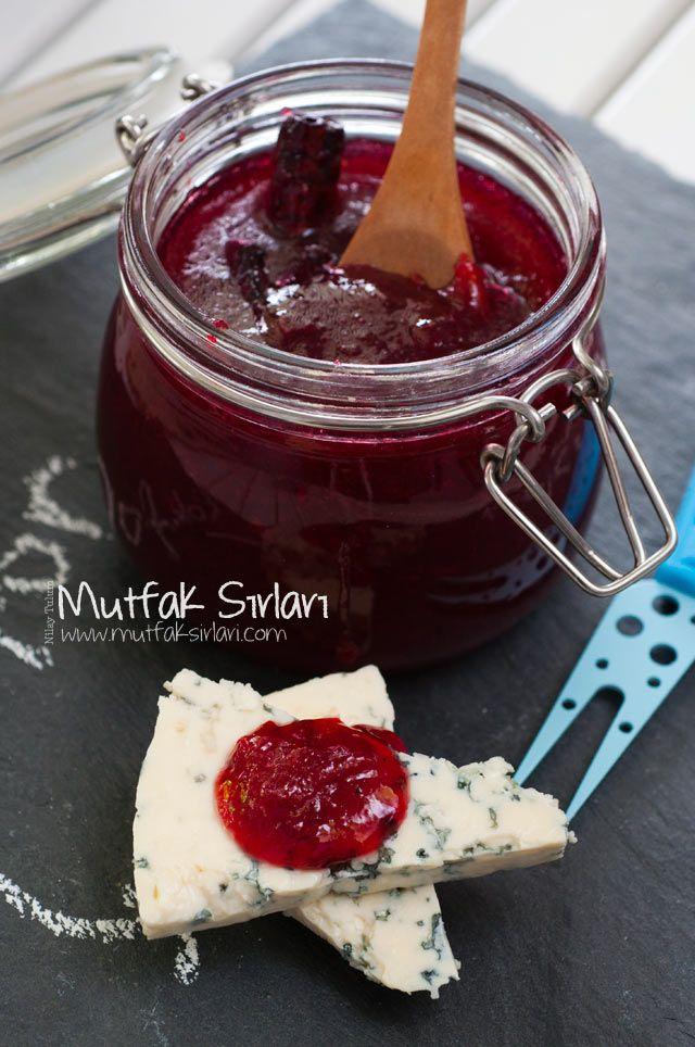 Kızılcık Marmelatı Tarifi   Mutfak Sırları